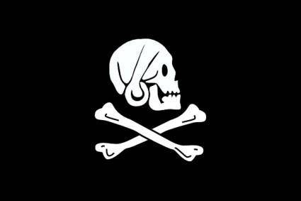 Pirate Flag Henry Every clip art