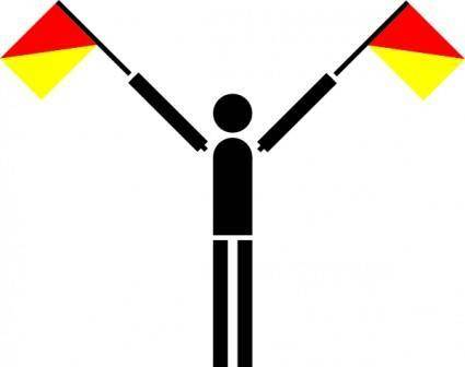 Semaphore Uniform clip art