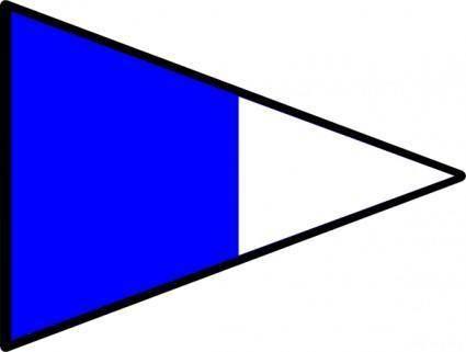 Signal Flag Alt Nd clip art