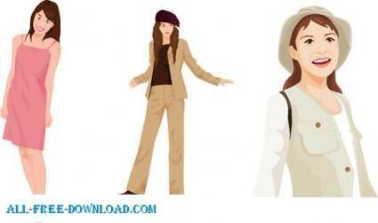 Free fashion vector 476
