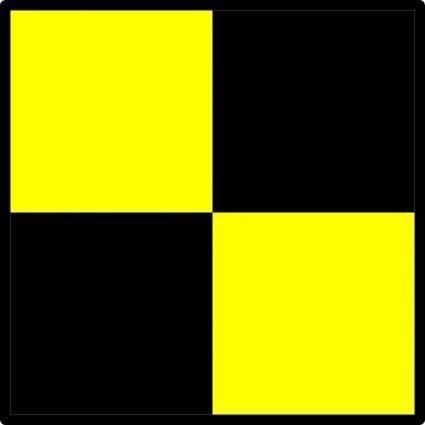 Signal Flag Lima clip art