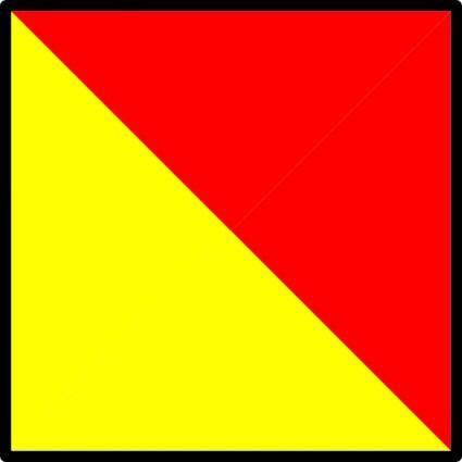free vector Signal Flag Oscar clip art