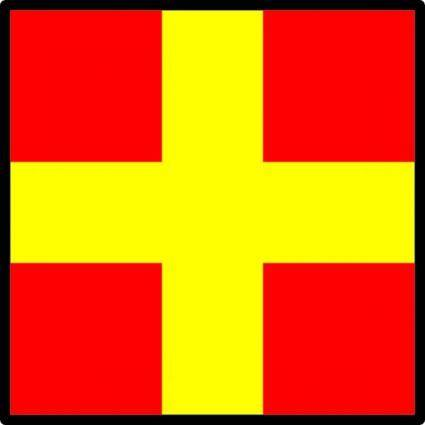 free vector Signal Flag Romeo clip art