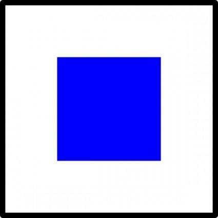 free vector Signal Flag Sierra clip art