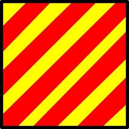 Signal Flag Yankee clip art