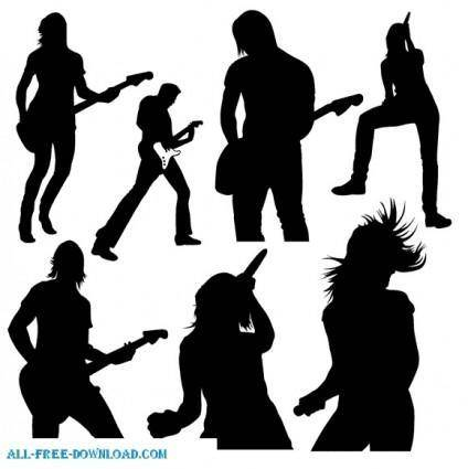 free vector Live Music