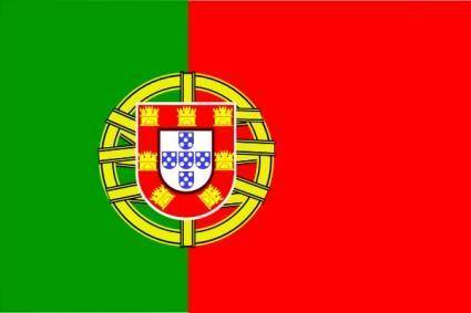 Flag Of Portugal clip art