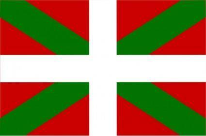 Flag Of Basque Spain clip art