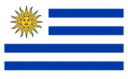 Flag Of Uruguay clip art