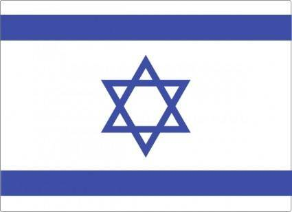 Israeli Flag clip art