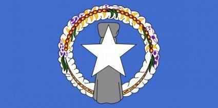 Northern Mariana Flag clip art