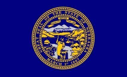 Us Nebraska Flag clip art