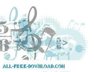 free vector Musician GraphicArt