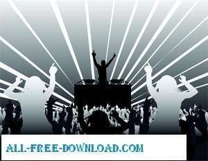 free vector Music Concert Vectors II