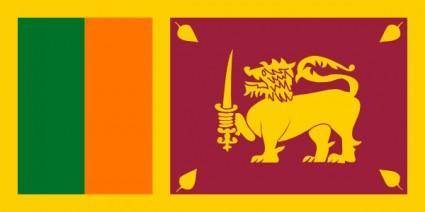 free vector Sri Lanka clip art