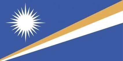 free vector Marshall Islands clip art