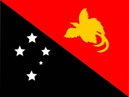 free vector Papaua New Guinea clip art