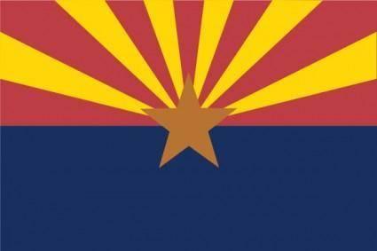 free vector Usa Arizona clip art