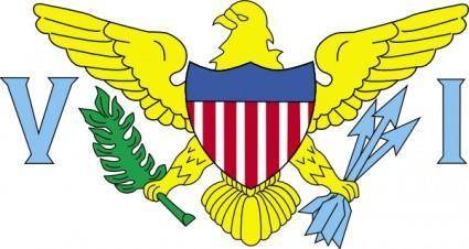 free vector United StatesUs Virgin Islands clip art