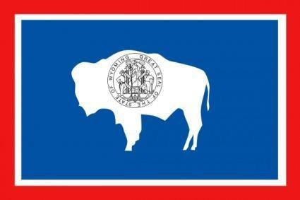 free vector Usa Wyoming clip art