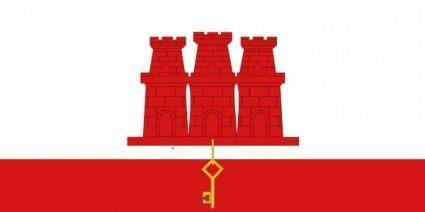 free vector United KingdomGibraltar clip art