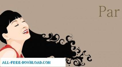 Free fashion vector 479