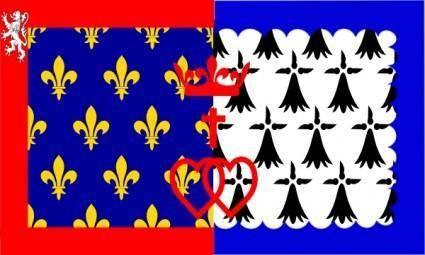 free vector FrancePays De La Loire clip art