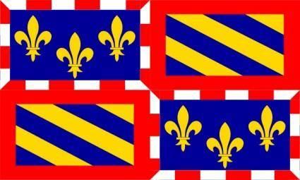 free vector FranceBbourgogne clip art