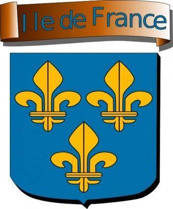 Ile De France clip art