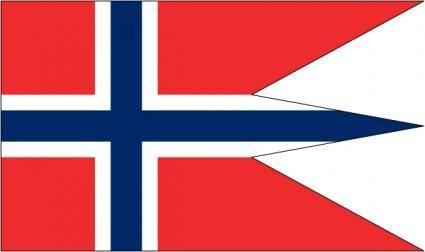 free vector Norwegian State Flag clip art