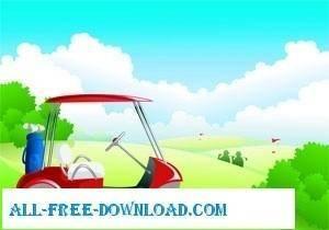 free vector Golf Vectors