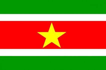 free vector Suriname clip art