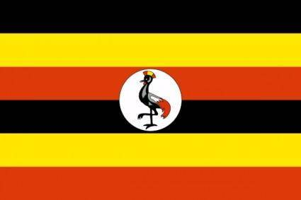 free vector Uganda clip art