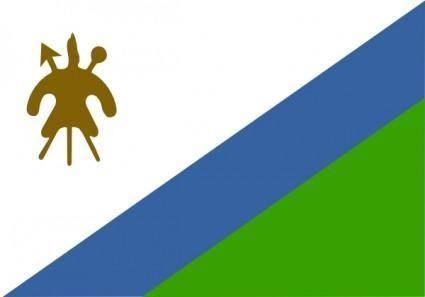 Lesotho clip art