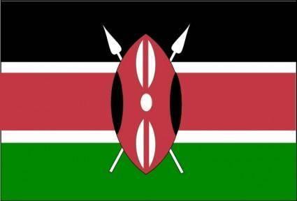 free vector Kenya clip art