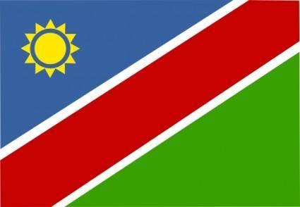 free vector Namibia clip art