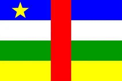 free vector Central_african_republic clip art