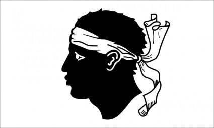 free vector Corsica clip art