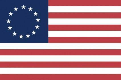 Historic -usa Betsy Ross clip art