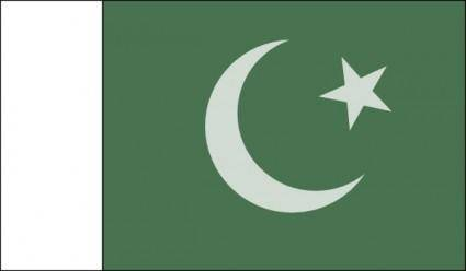 Pakistani Official Flag clip art
