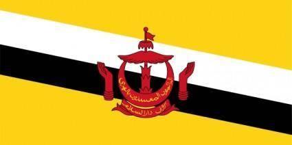 free vector Brunei Darussalam clip art