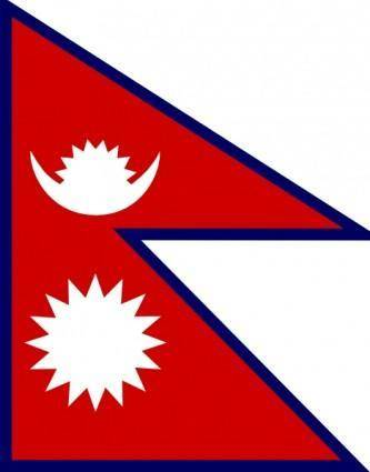 free vector Nepal clip art