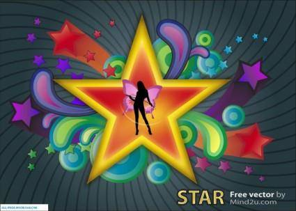 free vector Star