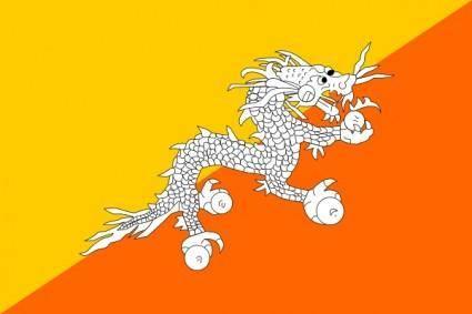 free vector Bhutan clip art