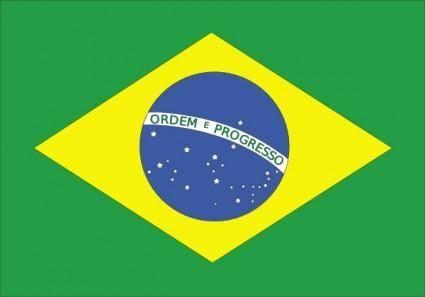 Brazil Flag clip art