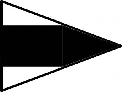 free vector International Maritime Signal Flag Repeat 3 clip art