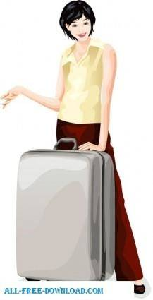 Free fashion vector 490