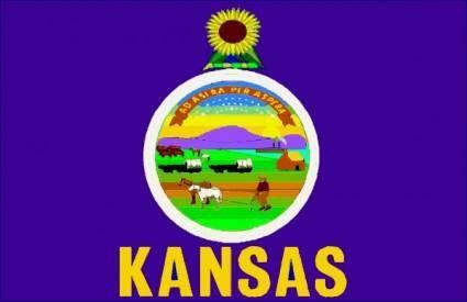 Kansasflag clip art