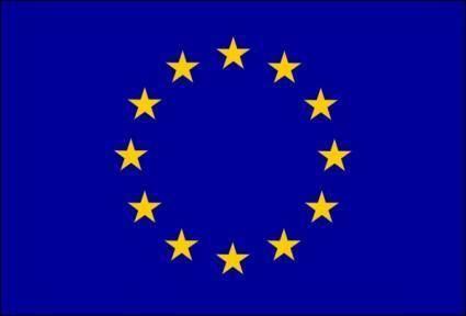 free vector Eu Flag clip art