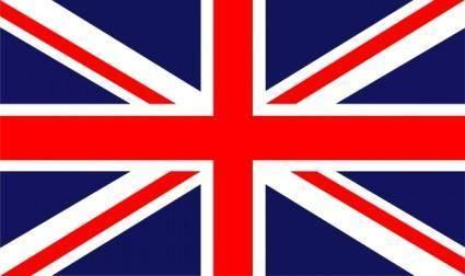 free vector British Flag clip art